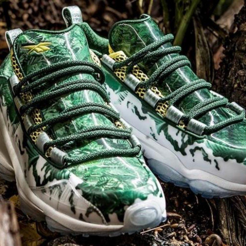"""fc95f1ec16e Filme """"O Predador"""" marca representação de sapatilhas da Reebok"""