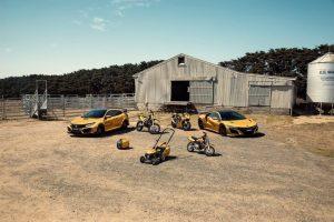 Honda, 50 anos de operações, Austrália, Honda NSX, Civic Type-R