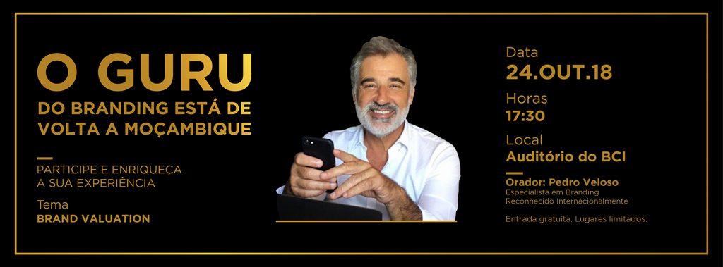 O Guru do Branding, Superbrands Moçambique, Palestra sobre Brand Valuation,