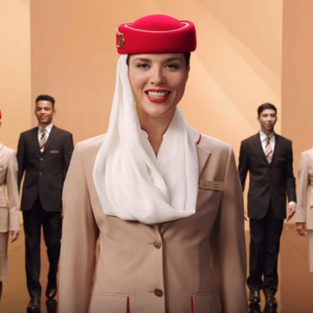 Emirates, Campanha de comunicação, Emirados Árabes Unidos, Emirates Fly Better, Voar Melhor, Superbrands Moçambique