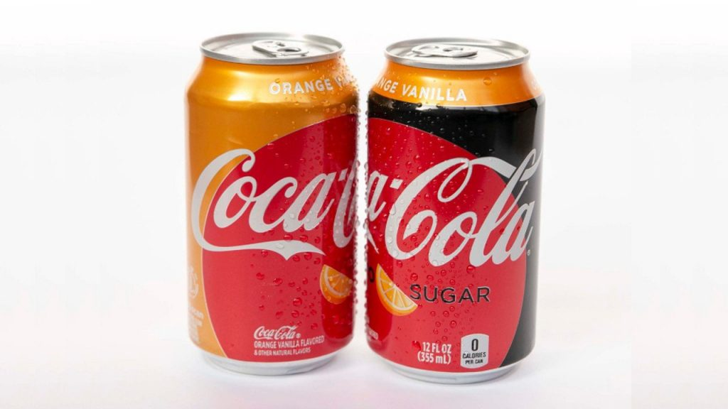 Orange Vanilla, Coca-Cola, Estados Unidos, novo sabor, Marcas, News